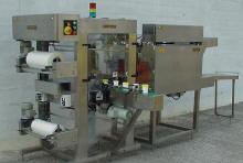 Shrink Wrapper with Horizontal Collator-Picture